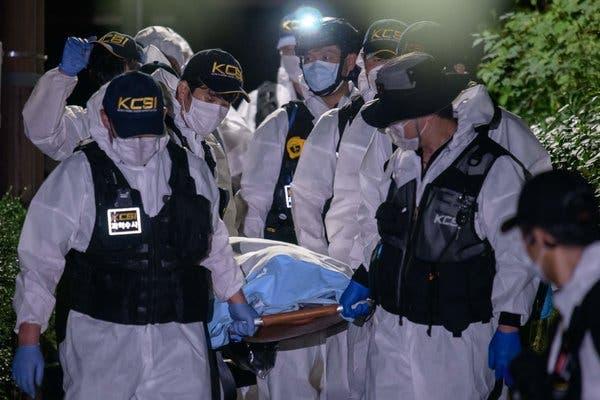 пропавший мэр Сеула найден мертвым