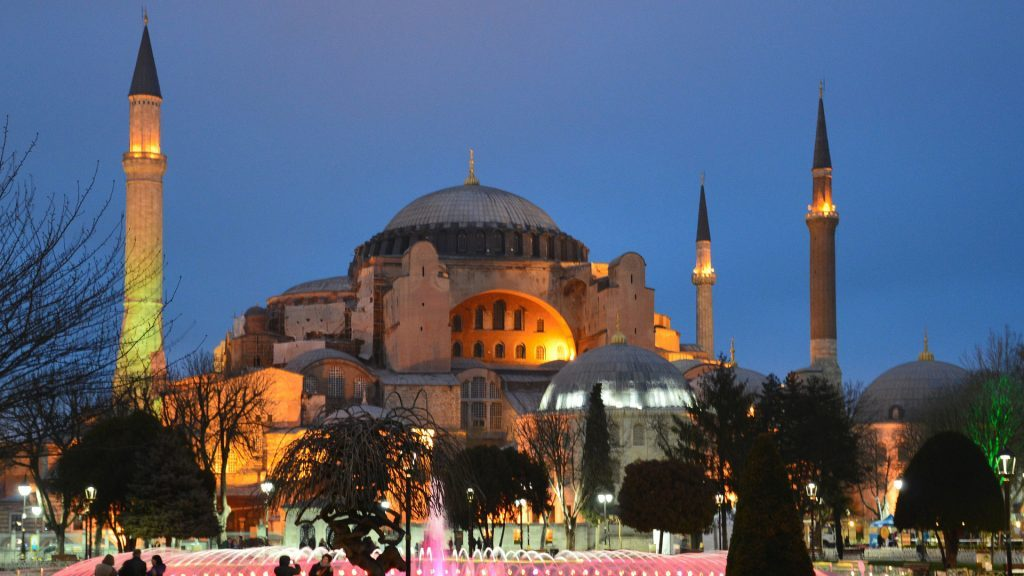 Россия призвала не вмешиваться третьи страны во внутреннее дело Турции по Святой Софии