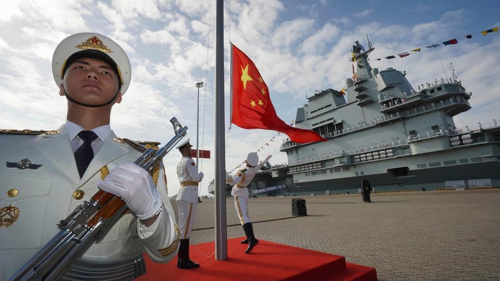 военный флот Китая