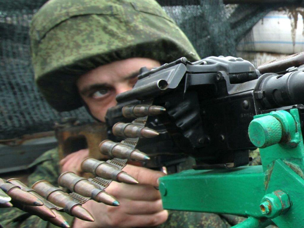 Военные ДНР ответным ударом подавили огневую точку боевиков ВСУ