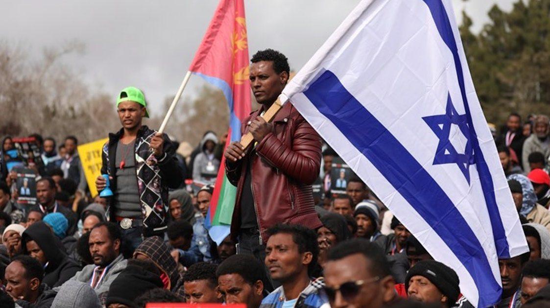 африканские мигранты-нелегалы из Эритреи в Израиле
