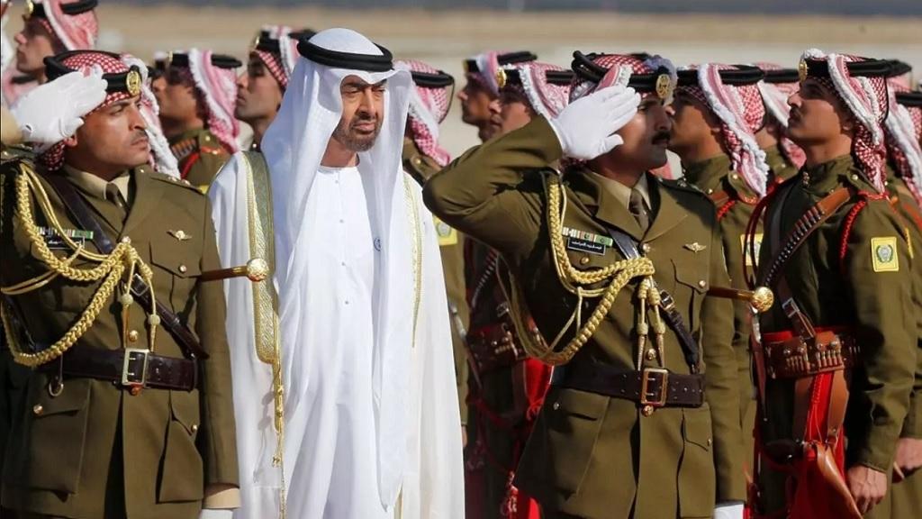 наследный принц Абу-Даби Мохаммед бен Заид Аль Нахайян