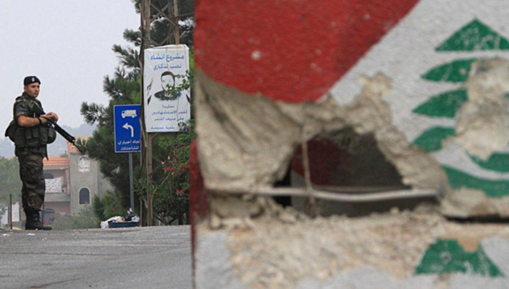 граница Израиля и Ливана