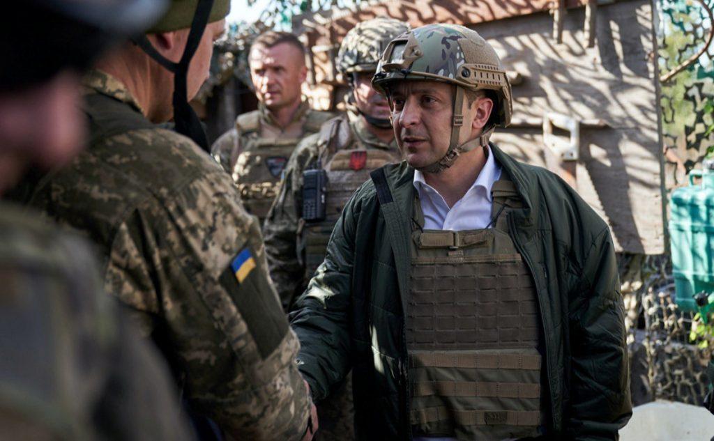 Президент Украины признал обстрелы ВСУ по ЛДНР: «Огонь, как правило, мощный»