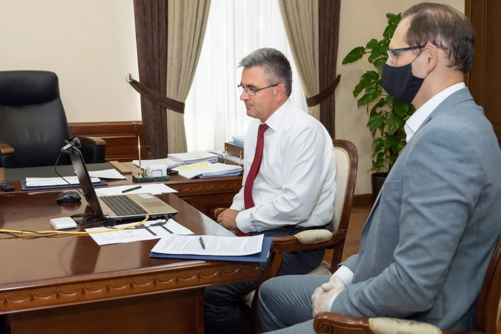 Глава Приднестровья обсудил с ОБСЕ переговоры с Молдавией