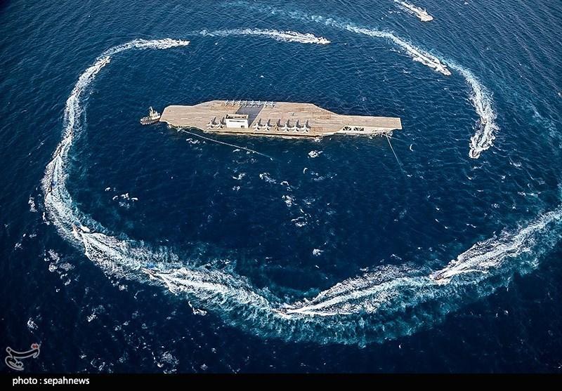 """Иранские военные учения """"Великий Пророк XIV"""" в Персидском заливе"""