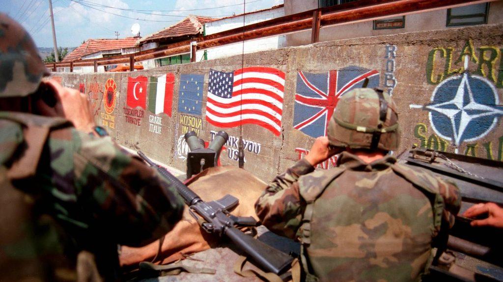США и Германия вооружают Косово