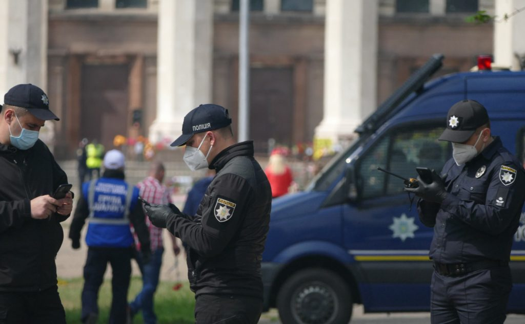 МВД Украины: Полицейские застрелили полтавского террориста