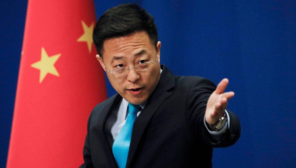 китайский пресс-секректарь
