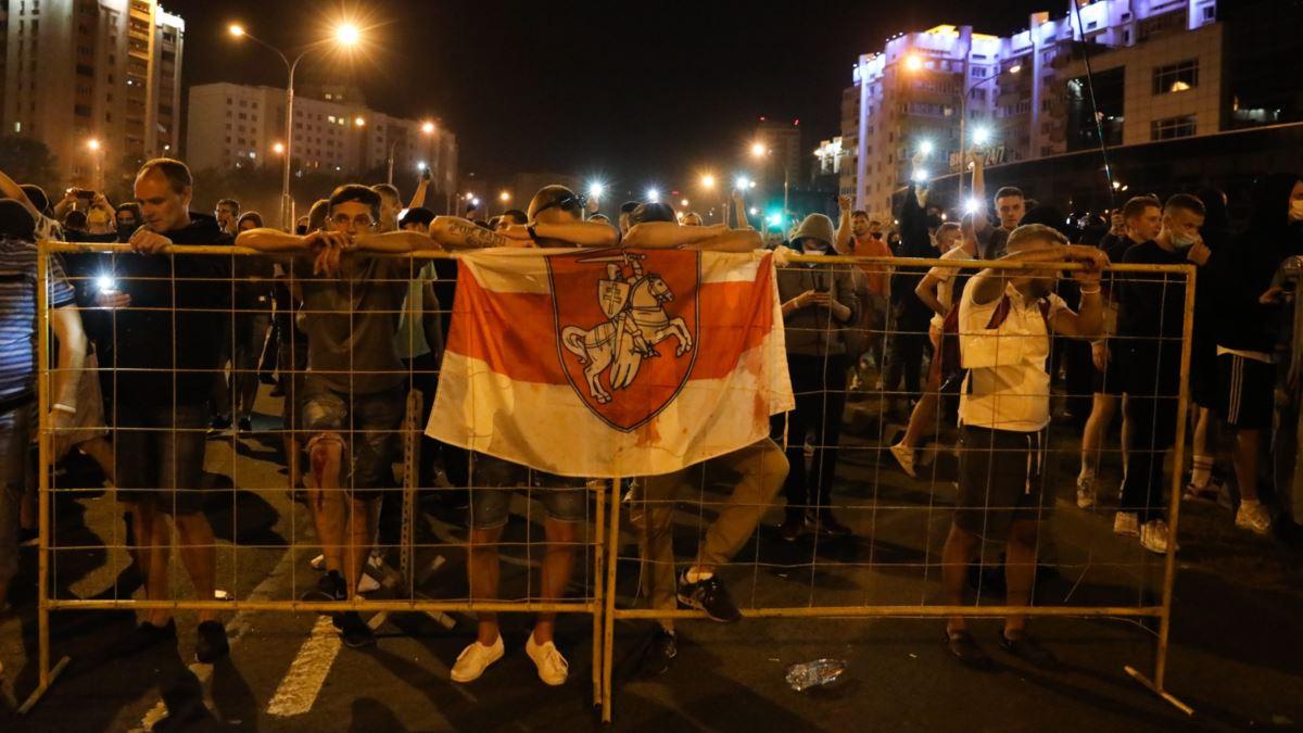 выборы и протесты в Белоруссии