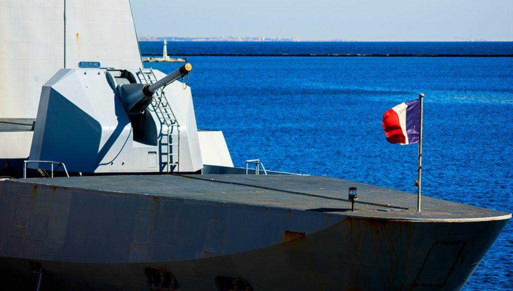 французский фрегат типа Лафайет