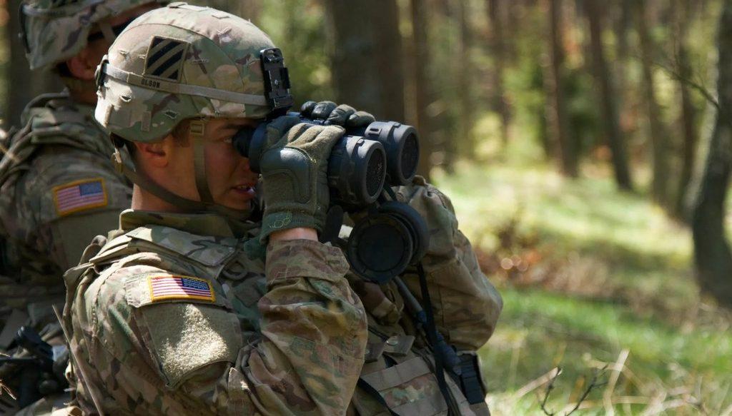 американские солдаты НАТО