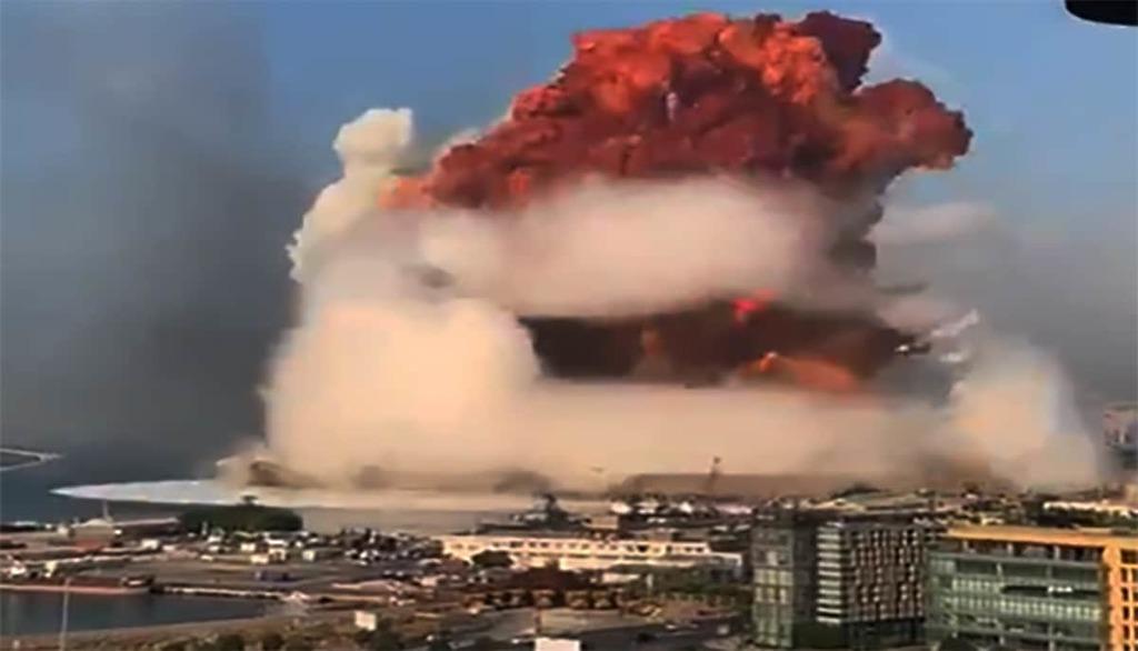 взрыв в Бейруте 4 августа 2020 года