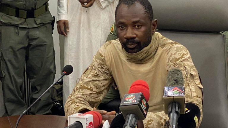 Малийский полковник Ассими Гойта