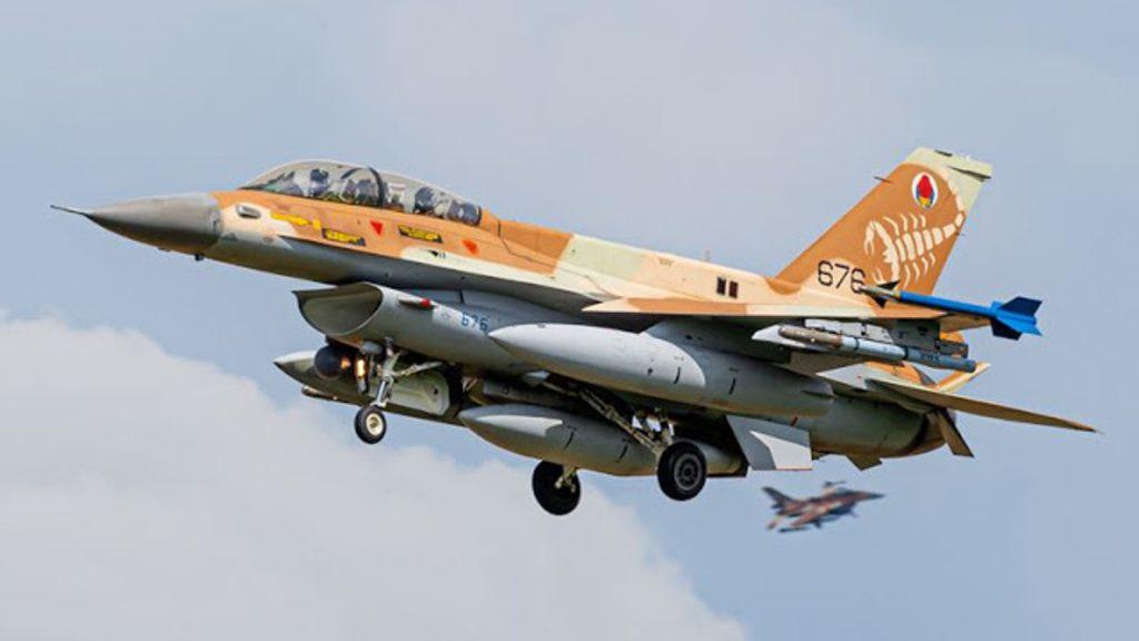 """израильский F-16 """"barak"""""""
