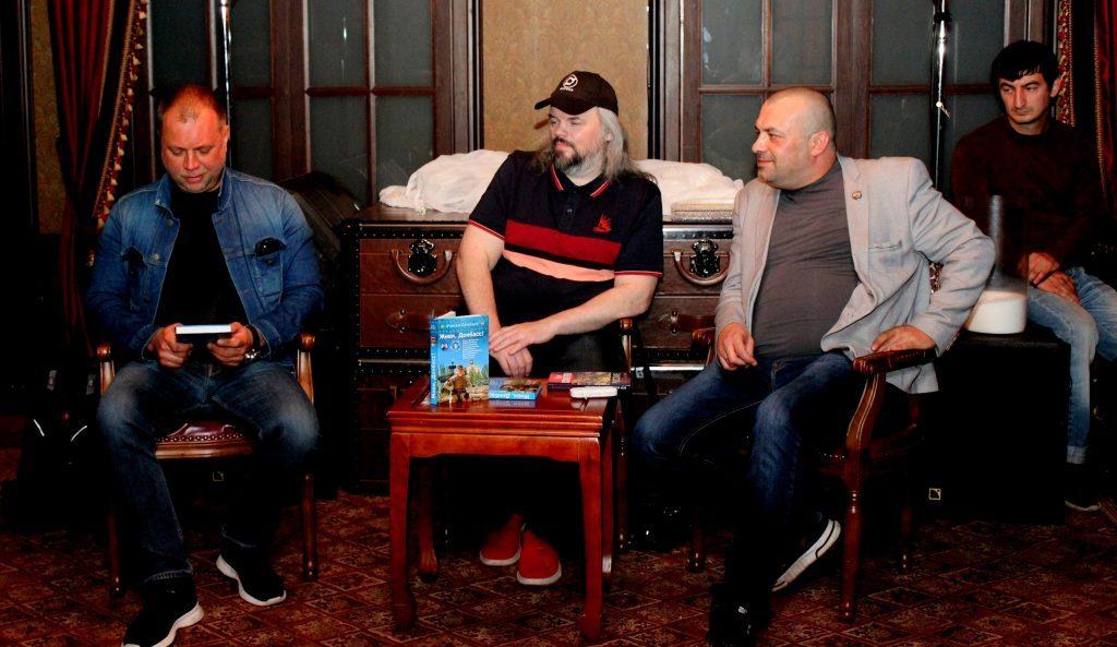 Глава СДД принял участие в презентации сборника рассказов #ЖивиДонбасс