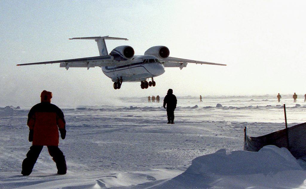 Специалисты России готовы строить в Арктике военные аэродромы