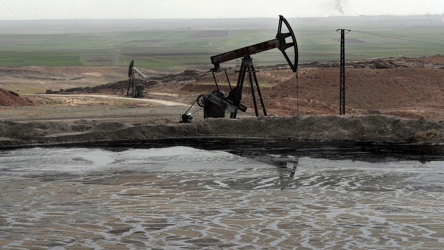 сирийские нефтяные месторождения