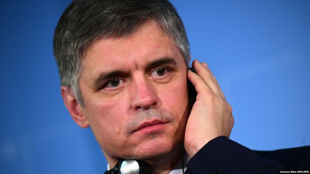 Пристайко предложил отложить «возвращение» Донбасса в состав Украины