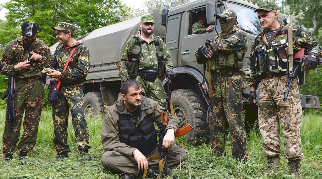 Борис Рожин: Русские добровольцы защитили Донбасс от террористической деятельности Киева