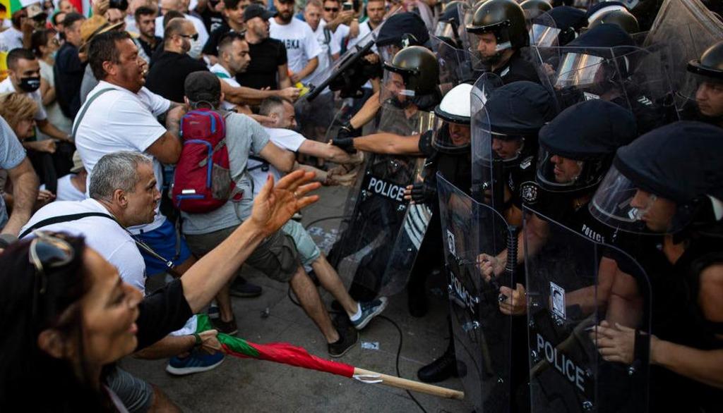 протесты в Болгарии 2020 год