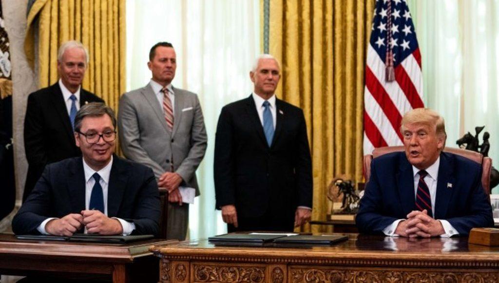 Трамп объявил об «исторической» сделке между Сербией и Косово