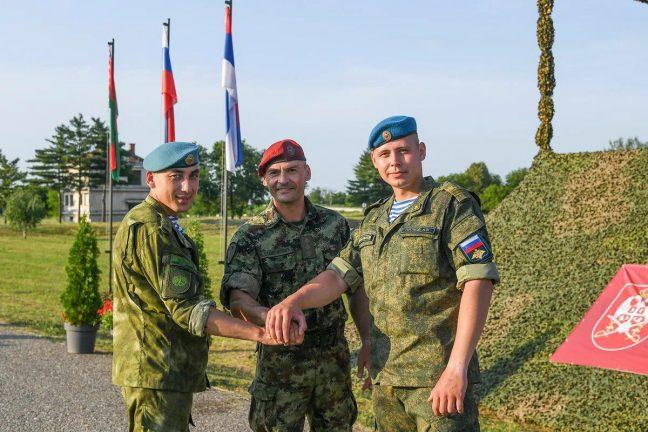 """военные учения """"Славянское братство"""""""