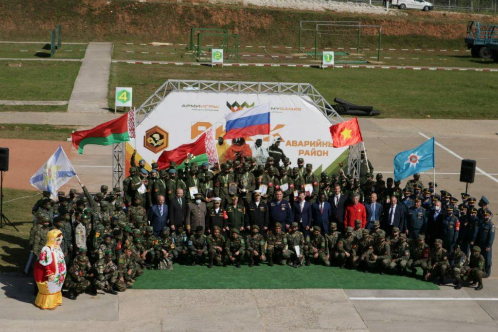 В Сергиевом Посаде завершился этап «Аварийный Район» Армейских международных игр