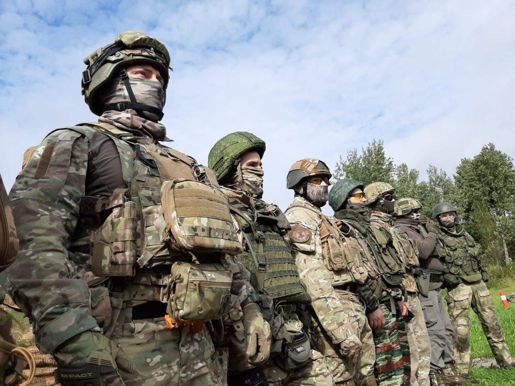 Бойцы СЗО СДД провели стрельбы