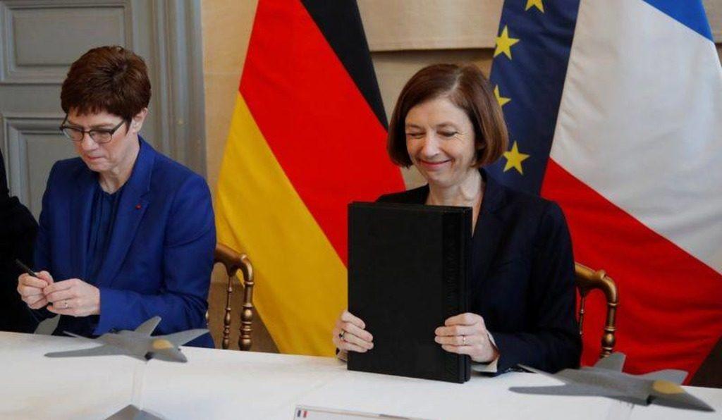 министры обороны Германии и Франции Аннегрет Крамп-Карренбауэр и Флоренс Парли