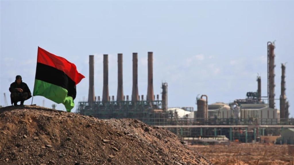 добыча и экспорт ливийской нефти