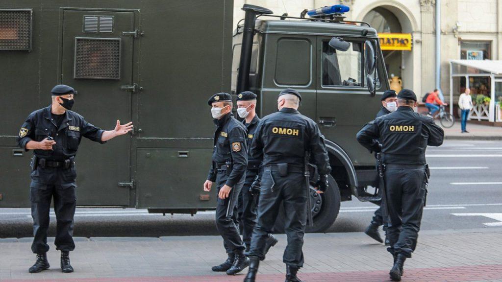 Nexta разместили личные данные 1 тыс. милиционеров на аналоге «Миротворца»
