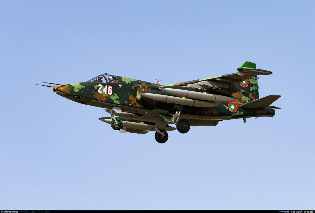 В Болгарию возвращаются первые улучшенные Су-25