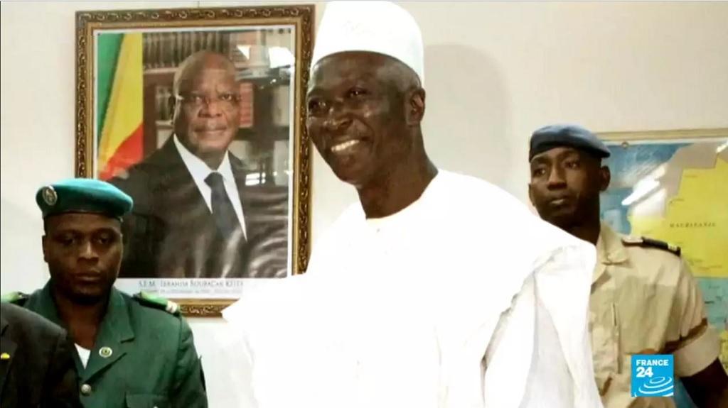 временный президент Мали Ба Ндау