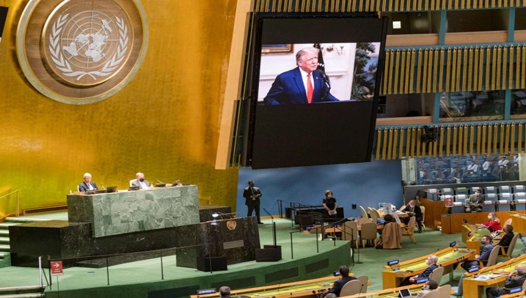 Трамп на Генассамблее ООН