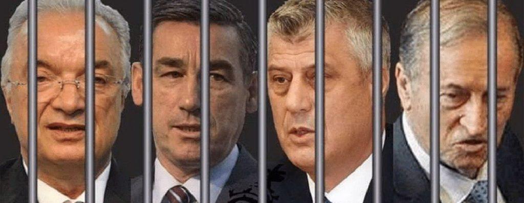 Прокуратура спецсуда по Косово получила новое досье преступлений Тачи и его банды