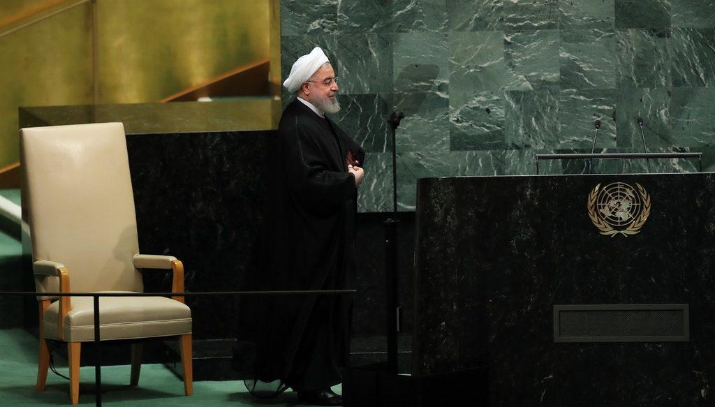 Хасан Роухани в ООН