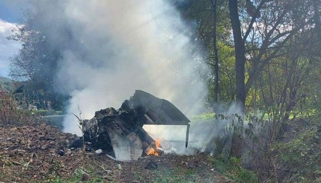 на западе Сербии разбился МиГ-21