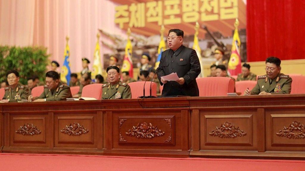 Ким Чен Ын заселание