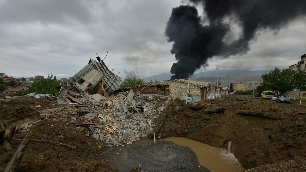 уонфликт в Нагорном Карабахе