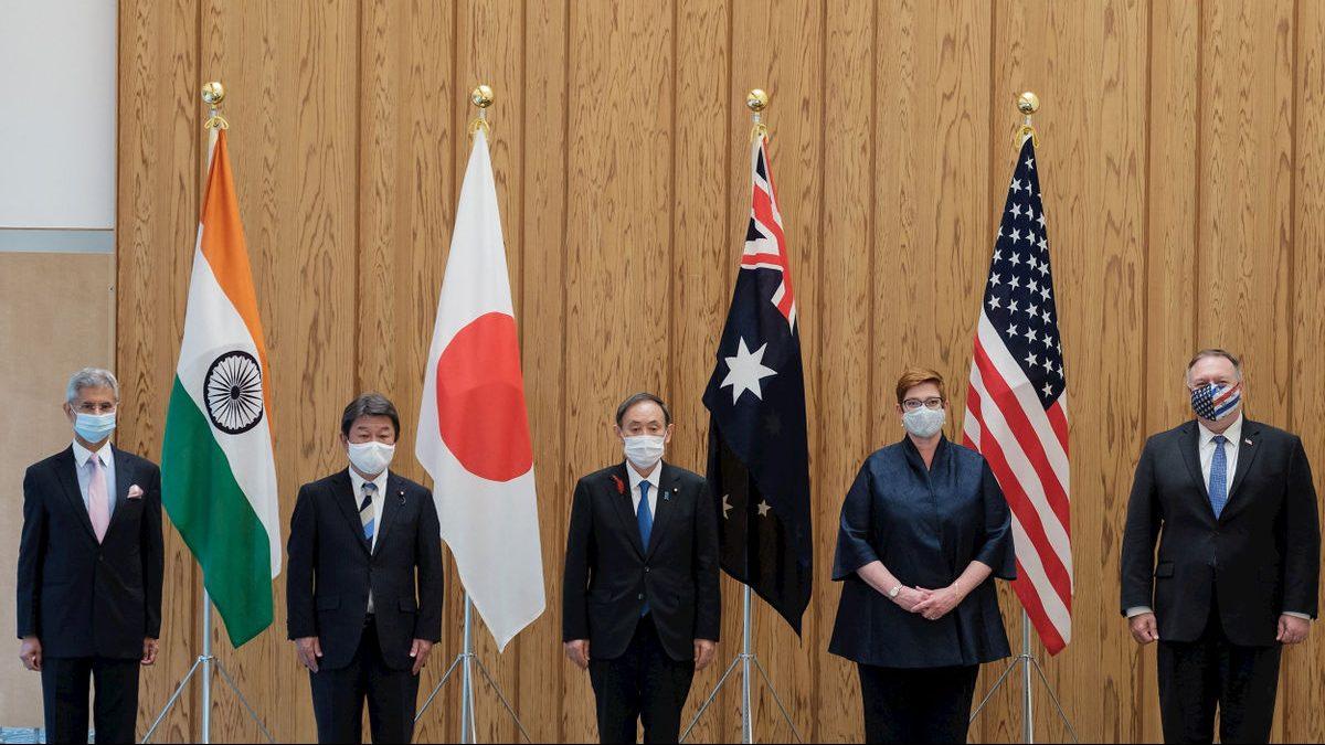 главы МИД Индии, Японии и Австралии встретились с Помпео