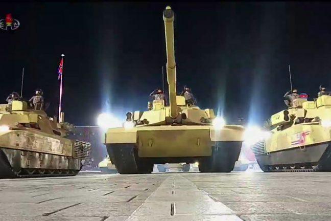 военный парад КНДР 10/10/2020