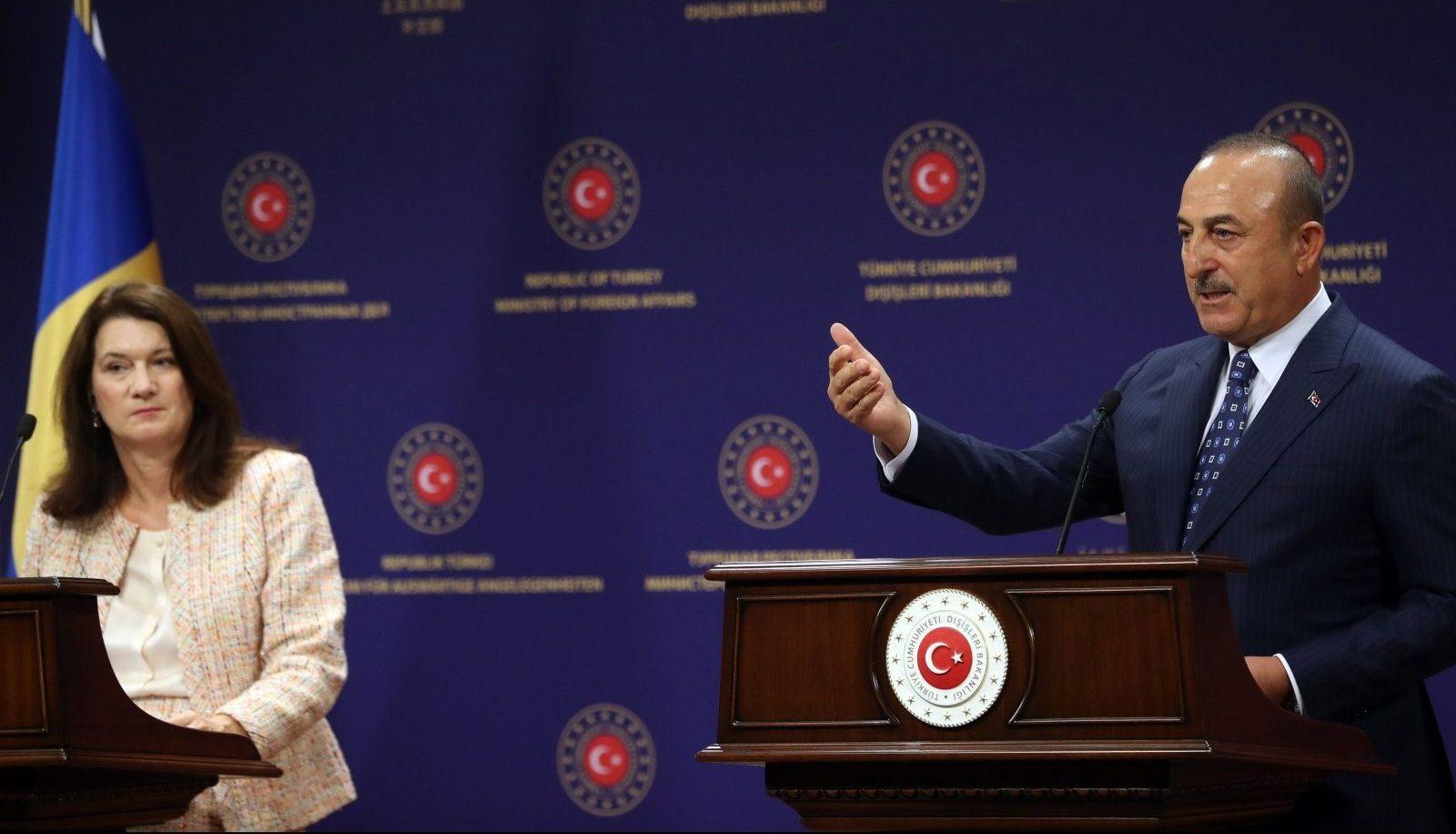 главы МИД Швеции и Турции
