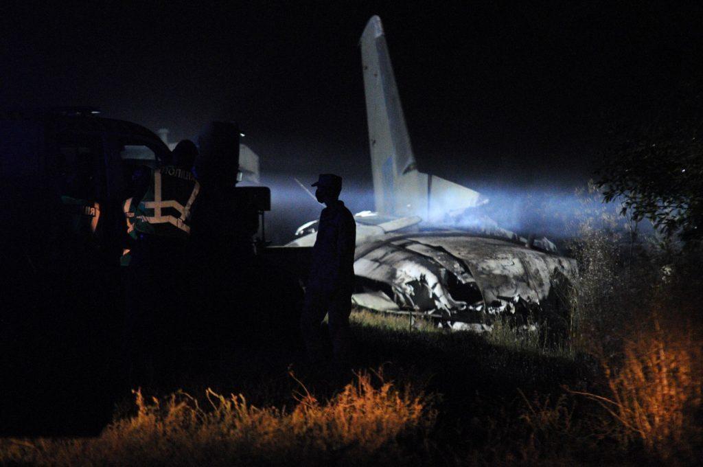 Кабмин Украины назвал причины крушения военного Ан-26 под Харьковом