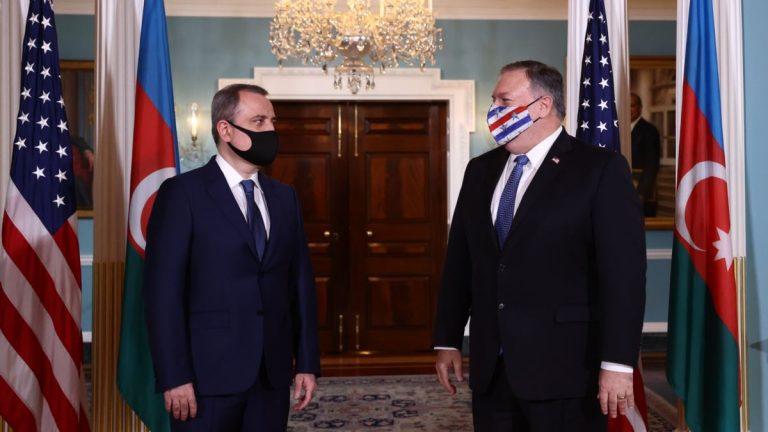 Помпео встретился с главой МИД Азербайджана