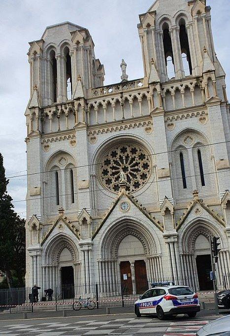 теракт в соборе в Ницце