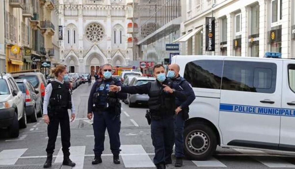 нападение исламиста в соборе в Ницце