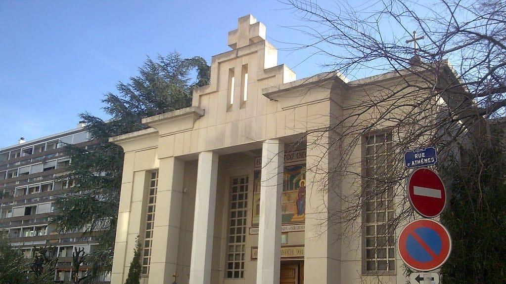 Грческая православная церковь в Лионе