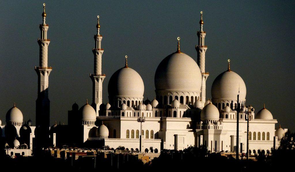 мечеть шейха аль-Зайеда в Абу-Даби