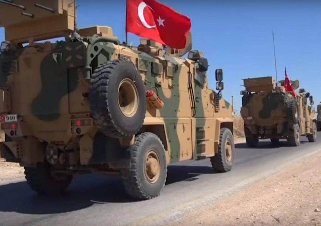 Турецкие войска покинули крупнейшую базу в Сирии